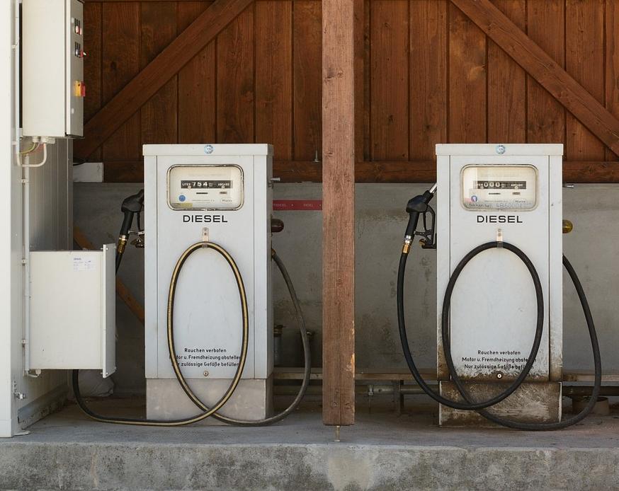 Eine Dieseltankstelle für den eigenen Betrieb